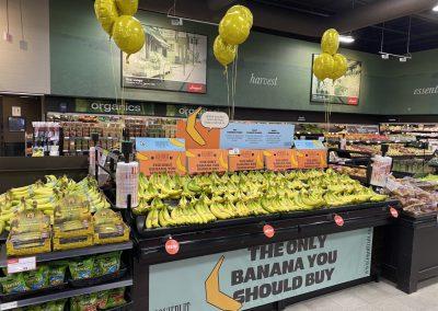Rush POS Signage for Equifruit & Longo's