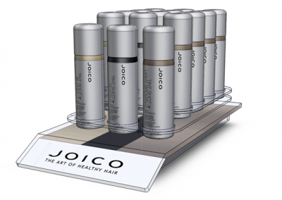 Joico Salon Colour Tube Display + Carrier